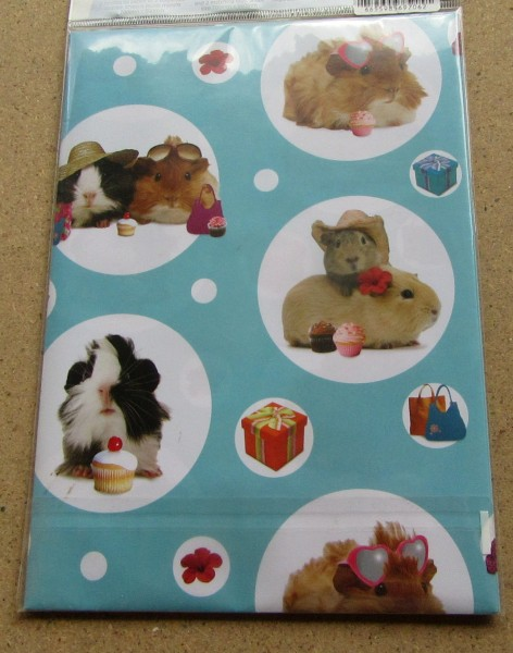 Geschenkpapier Motiv Meerschweinchen