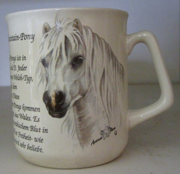 "Kaffeebecher ""Welsh Pony"""