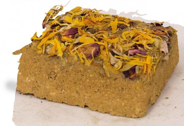 JR Natur-Minerallehmstein Blüte - 100 g