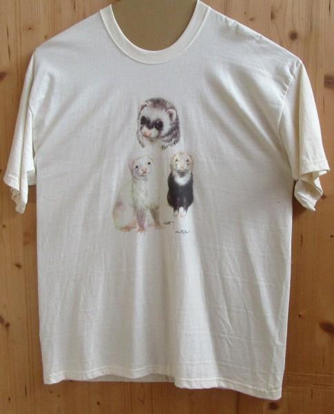 "T-Shirt mit Motiv ""Frettchen"""