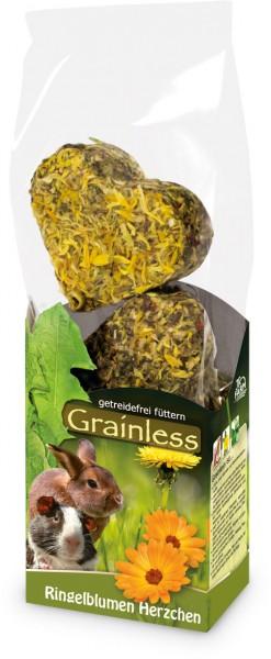 JR Farm Grainless Ringelblumen Herzchen - 6 Stück