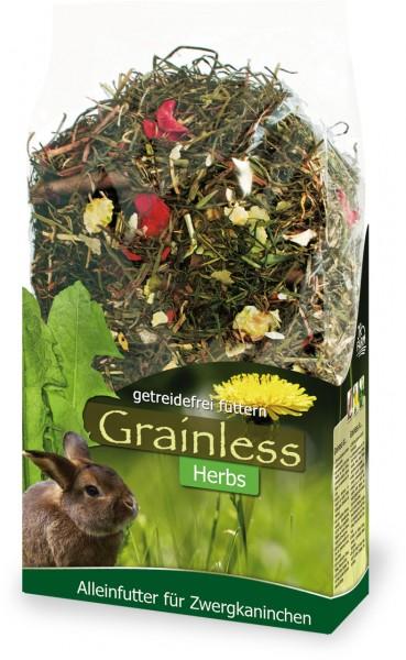 JR Farm Grainless Herbs Zwergkaninchen - 400 g