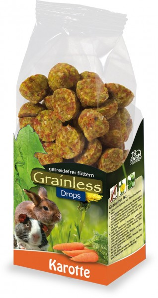 JR Farm Grainless Drops Karotte - 140 g