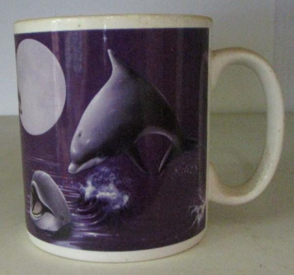 """Kaffeebecher """"Delphin"""""""