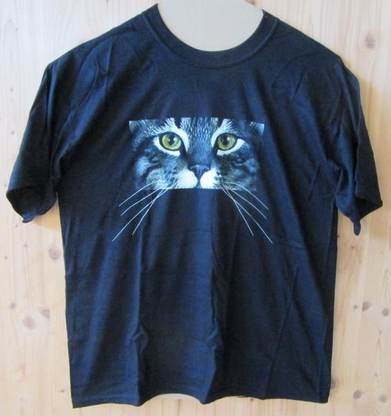 "T-Shirt Motiv ""Katzenaugen"""