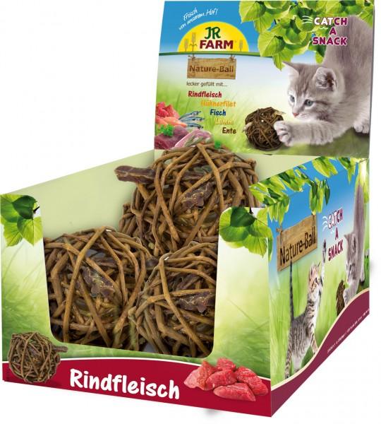JR Farm Cat Nature-Ball Rindfleisch - 15 g