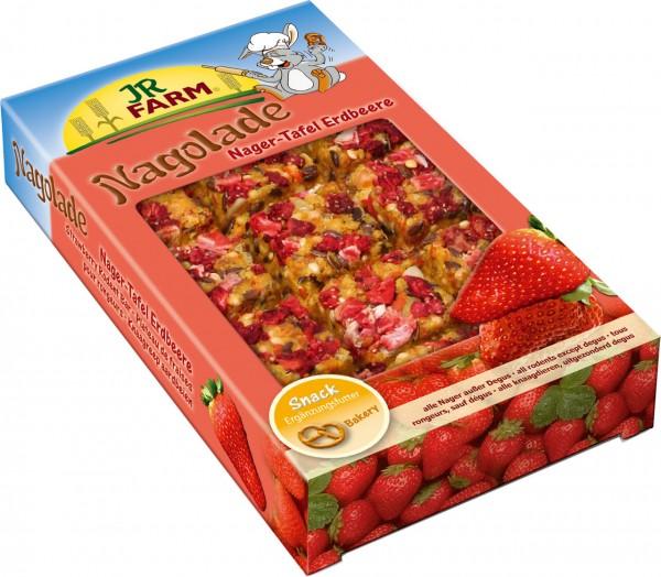 JR Farm Nager-Tafel Erdbeere - 125 g