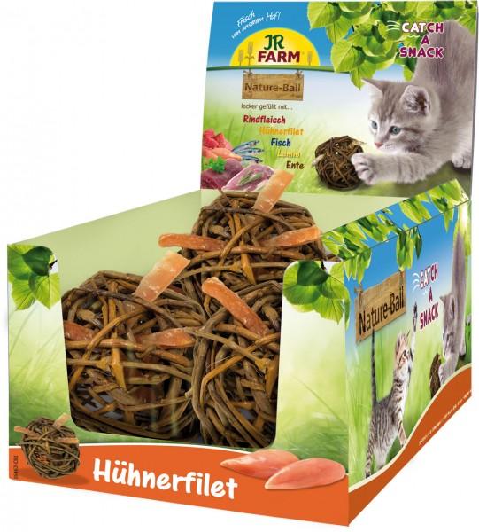 JR Farm Cat Nature-Ball Hühnerfilet - 15 g