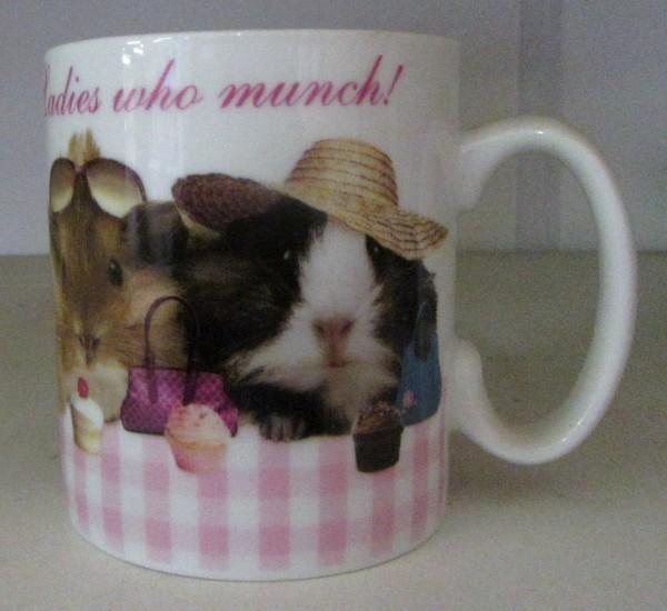 "Kaffeebecher ""Ladies who munch"""