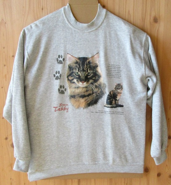 "Sweat Shirt ""Katze"""