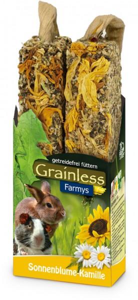 JR Grainless Farmys Sonnenblume-Kamille - 140 g