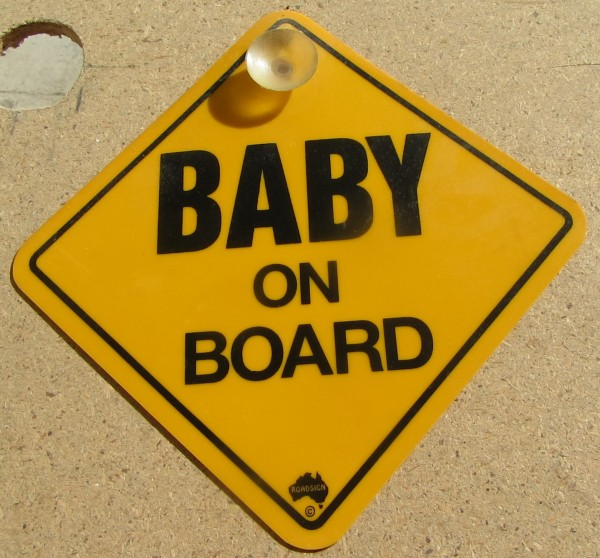 Road Sign - Baby on Board