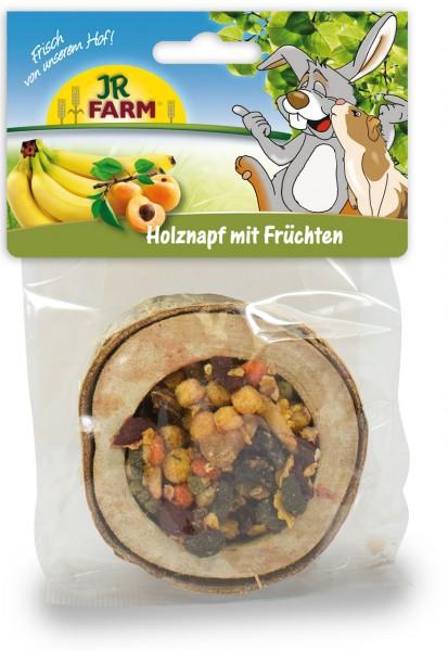JR Farm Holznapf gefüllt - Früchte - 120 g