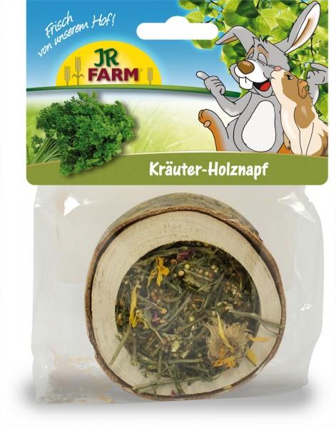 JR Farm Holznapf gefüllt - Kräuter - 120 g