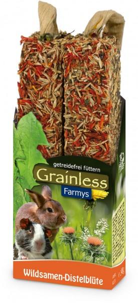 JR Grainless Farmys Wildsamen-Distelblüte - 140 g