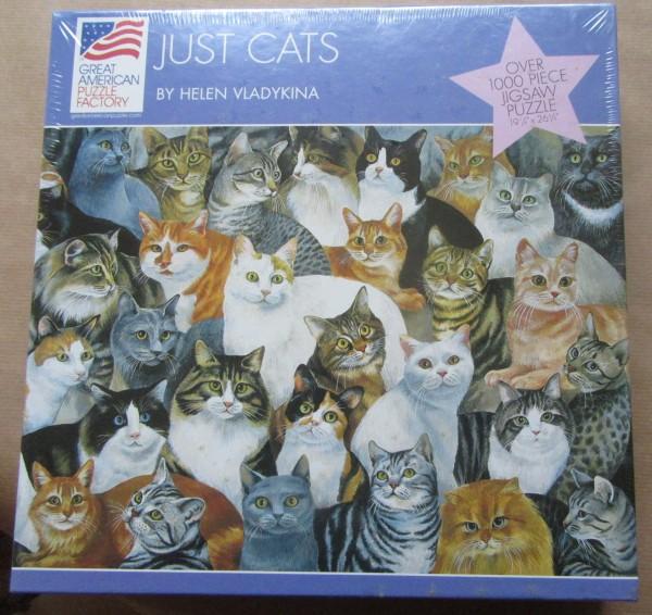 """Puzzle """"Just Cat"""""""