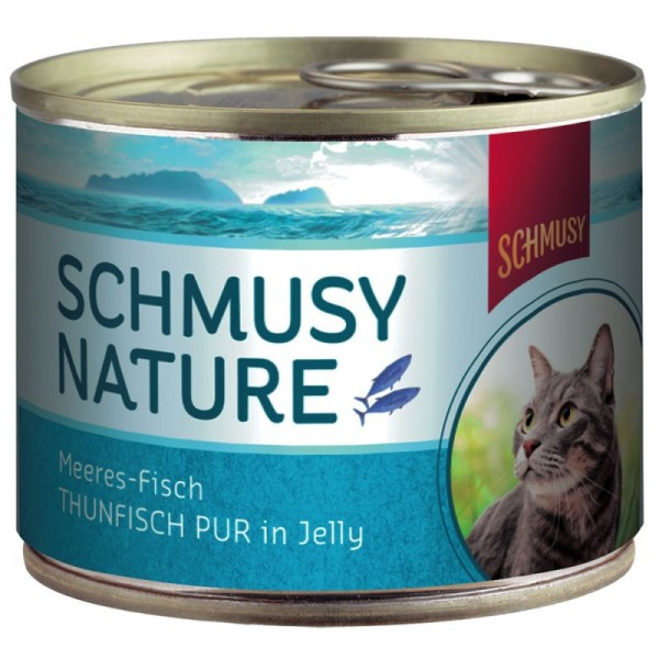 Schmusy Thunfisch pur - 185 g