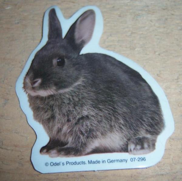 Aufkleber Kaninchen - groß
