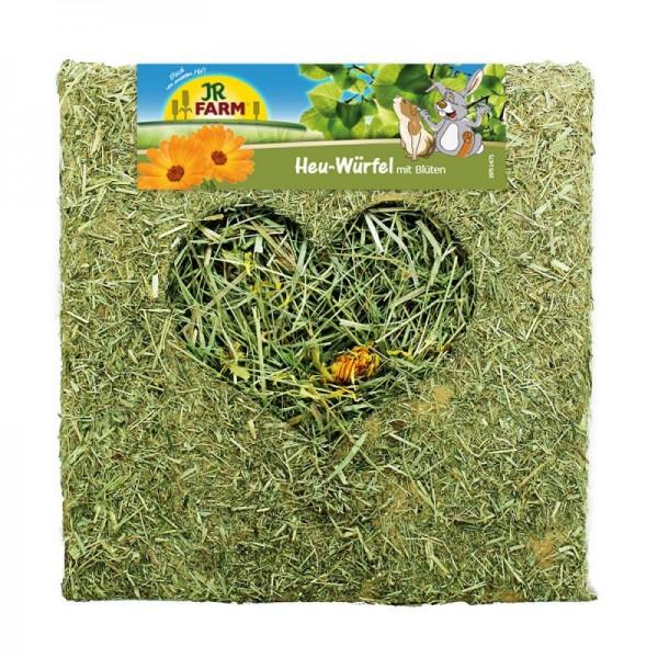 JR Farm Heu-Würfel mit Blüten - 450 g
