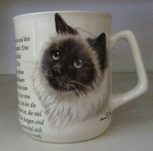 "Kaffeebecher ""Heilige Birma"""
