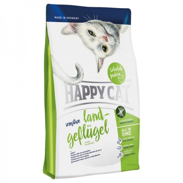 Happy Cat Sensitive Landgeflügel