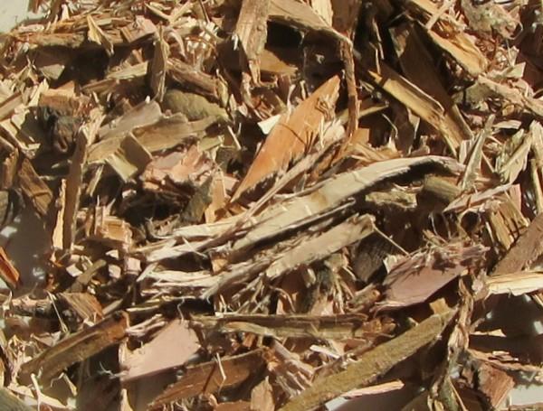 Weidenrinde grob geschnitten