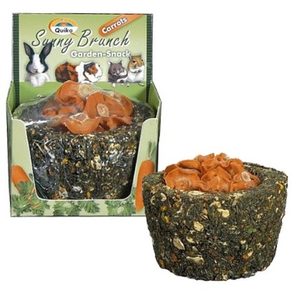 Sunny Brunch Garden-Snack Karotte - 140 g