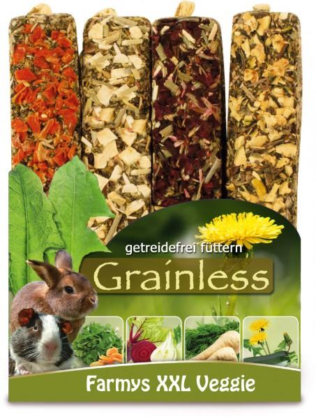 JR Grainless Farmys XXL Veggie 4er Pack - 450 g