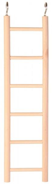 Leiter aus Holz - 6 Sprossen