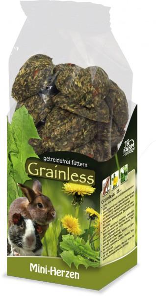 JR Grainless Mini-Herzen - 150 g
