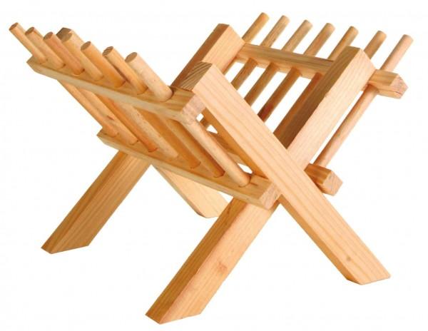 Heuraufe aus Holz
