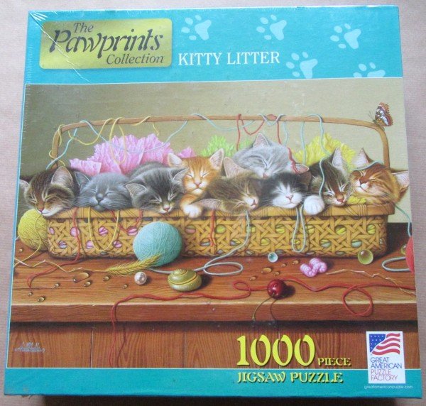 "Puzzle ""Kitty Litter"""