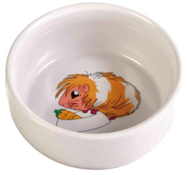 Keramik Napf mit Motiv Meerschweinchen