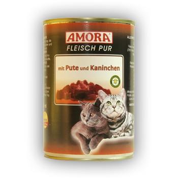 Amora Fleisch Pur Katzenfutter - 400 g