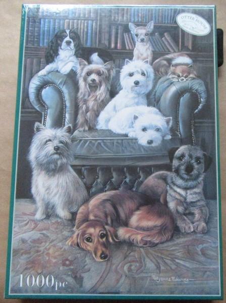 "Puzzle ""Little Dogs"""