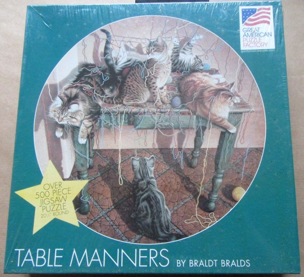 """Puzzle """"Table manners"""""""