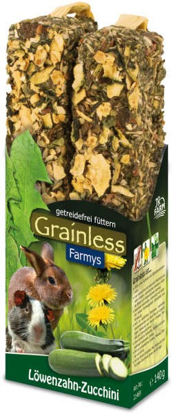 JR Grainless Farmys Löwenzahn-Zuchini - 140 g