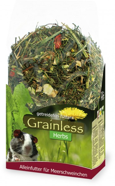 JR Farm Grainless Herbs Meerschweinchen - 400 g