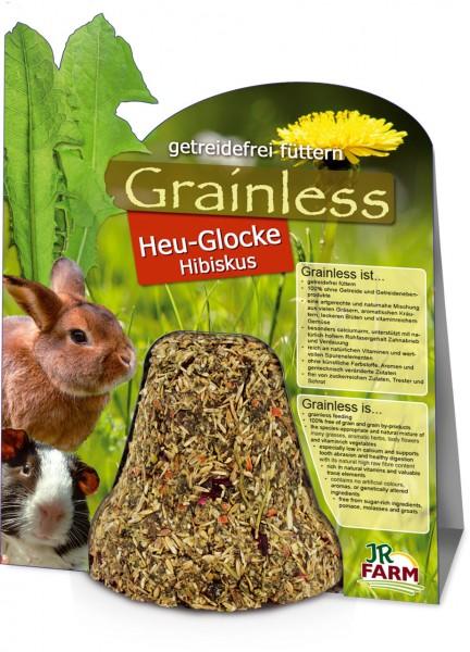 JR Farm Grainless Heu-Glocke Hibiskus - 125 g