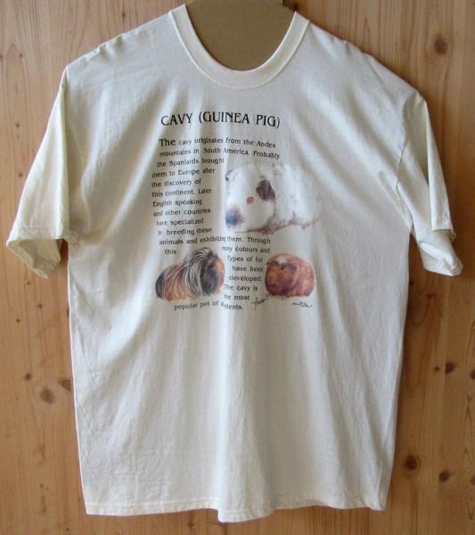 T-Shirt mit Meerschweinchen Motiv II