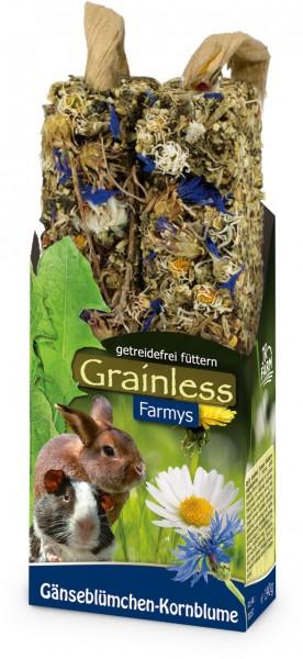 JR Grainless Farmys Gänseblümchen-Kornblume - 140 g